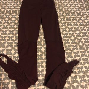 Lululemon Stirrup high rise leggings sz 4